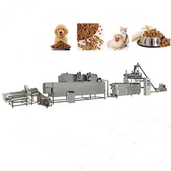 Fish Feed Making Equipment Dry Pet Fish Feed Snacks Food Production Line Pet Food Extruder Manufacturers