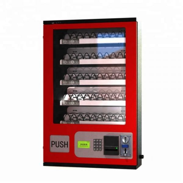 Hot Selling 2018 High Quality Plastic Kids Toy Red Mini Candy Vending Machine