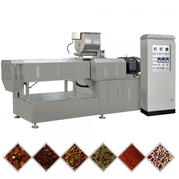Full Automatic Pet Dog Cat Food Fish Float Feed Processing Production Line Making Machine